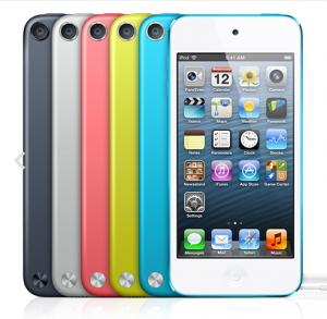 2012年秋に発売されたiPod touch5(第5世代)
